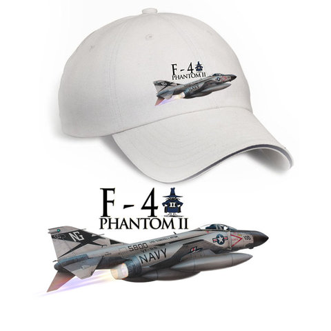 Cap F-4 Phantom Printed