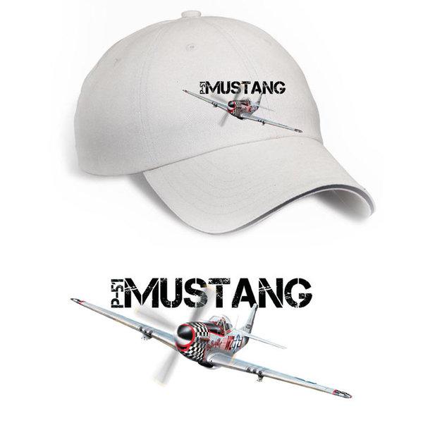 Labusch Skywear Cap P-51 Mustang USAF Printed