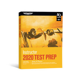 ASA - Aviation Supplies & Academics Flight Instructor Test Preparation 2020