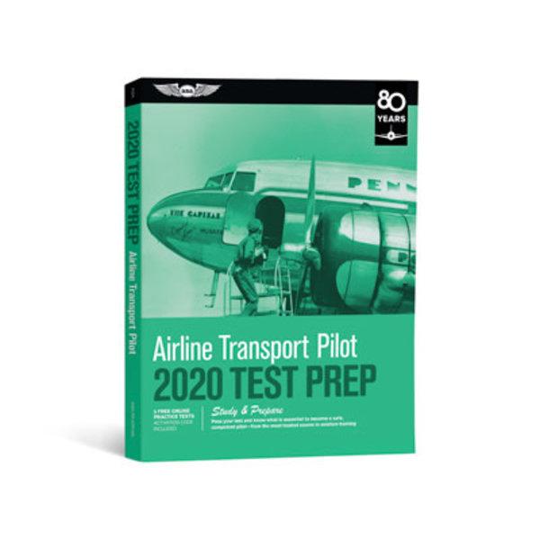 ASA - Aviation Supplies & Academics ATP Airline Transport Pilot Test Preparation 2020