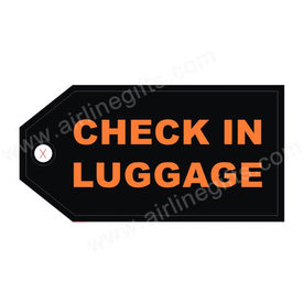 Luggage Tag Check In Luggage