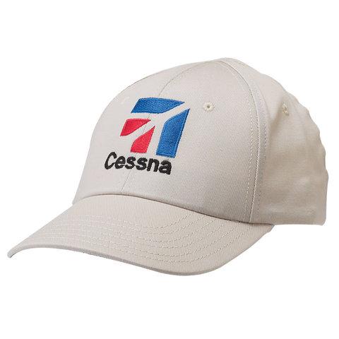 Cap Cessna Logo White