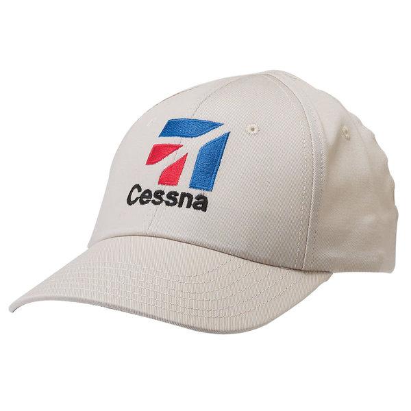 Sporty's Cap Cessna Logo White