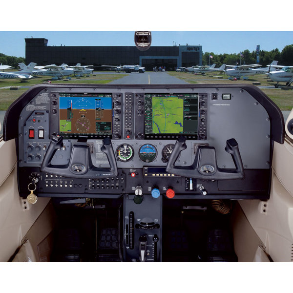 Sporty's Poster Cessna  C182 G1000 Cockpit