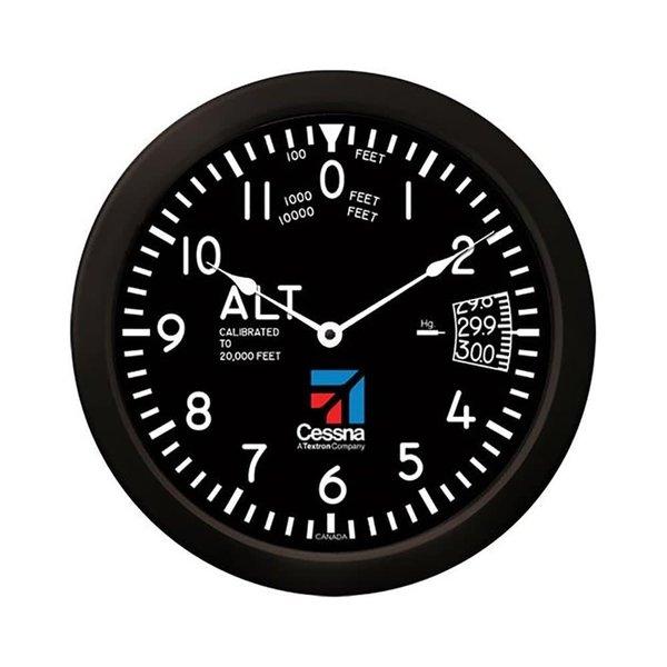 "Trintec Industries Cessna 14"" Altimeter Clock (NEW)"