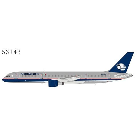 B757-200 Aeroméxico N801AM 1:400 (polished)