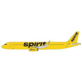 NG Models A321S Spirit Airlines yellow N681NK 1:400 sharklets
