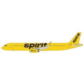 NG Models A321S Spirit Airlines yellow N681NK 1:400 sharklets