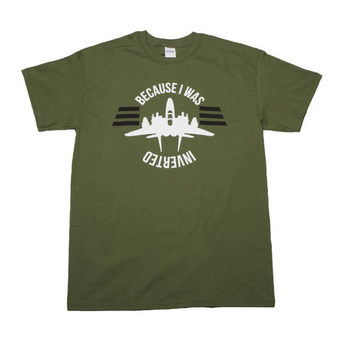 Because I Was Inverted Tee