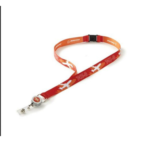 Boeing Store 747-8 Shadow Graphic Lanyard