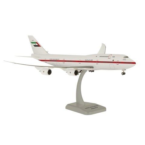United Arab Emirates 747-8 1/200 W/Gear Reg#A6-Pfa