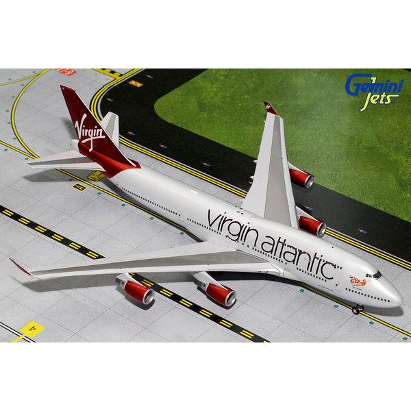 Gemini Jets B747-400 Virgin Atlantic Ruby 1:200 with stand