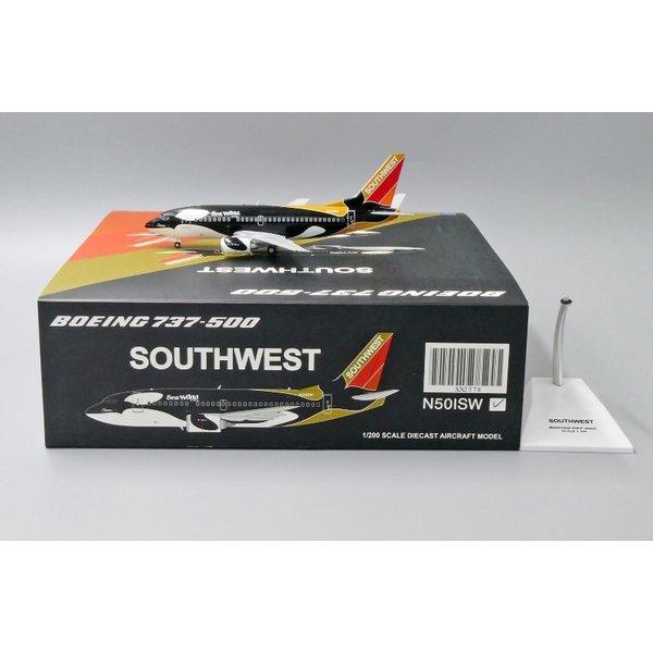 JC Wings B737-500 Southwest Shamu Ohio N501SW 1:200
