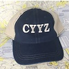 Cap CYYZ blue / tan