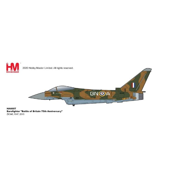 Hobby Master Typhoon RAF Battle of Britain 75th Ann.GN-A 2015 1:72 Weapons +Preorder+