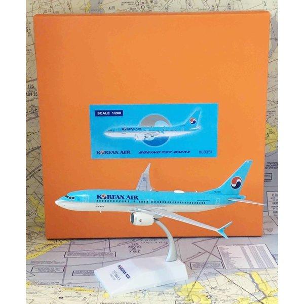 JC Wings B737 MAX8 Korean Air HL8351 1:200 (orange box)