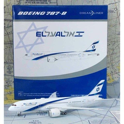 B787-8 Dreamliner El Al 4X-ERA 1:400 flaps down