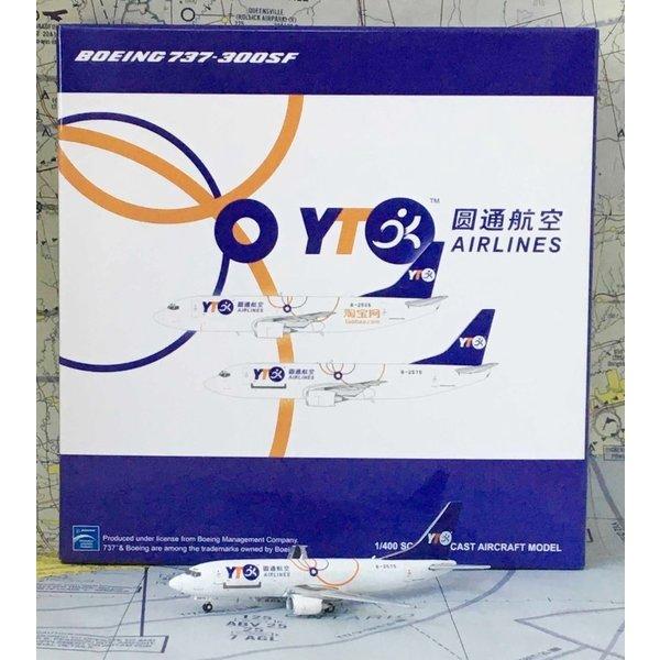 JC Wings B737-300(SF) YTO Cargo Airlines B-2575 1:400