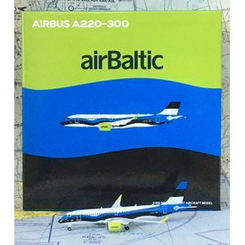 JC Wings A220-300 Air Baltic Estonian Flag YL-CSJ 1:400