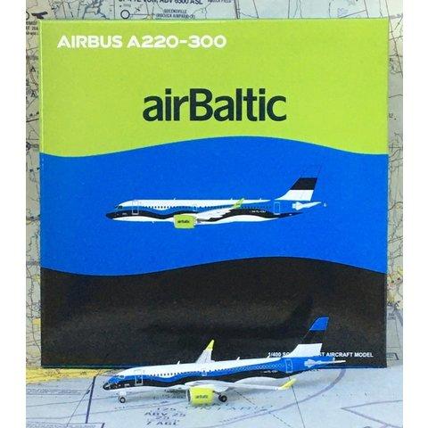 A220-300 Air Baltic Estonian Flag YL-CSJ 1:400