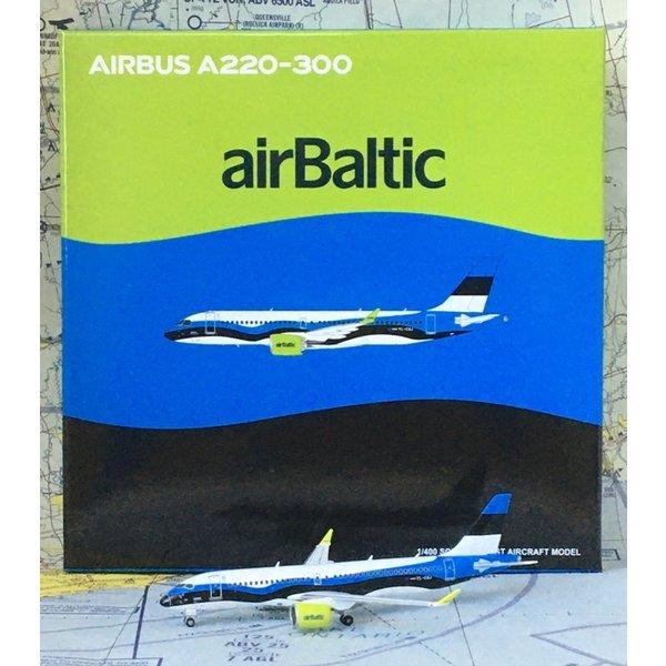 JC Wings A220-300 Air Baltic Estonian Flag YL-CSJ 1:400