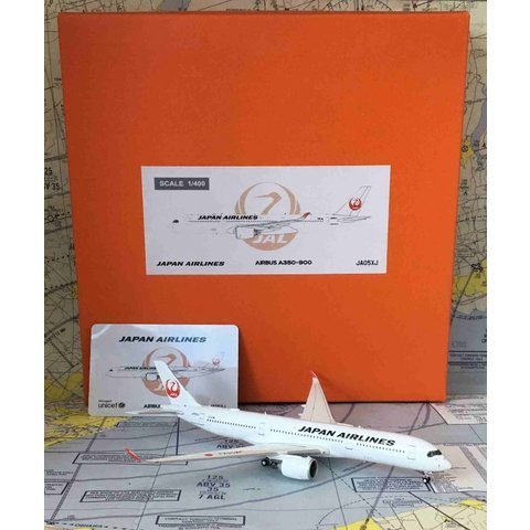 A350-900 JAL Japan Airlines A350 JA05XJ 1:400 flaps