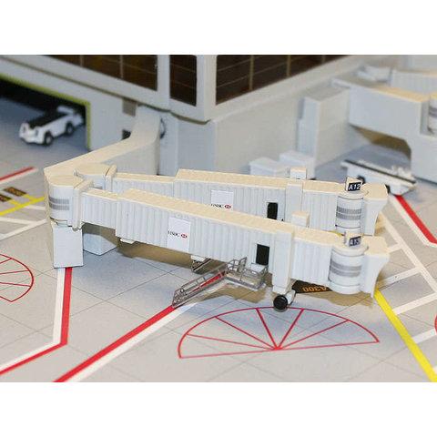 Airbridge jetway Widebody Double (x3) 1:400