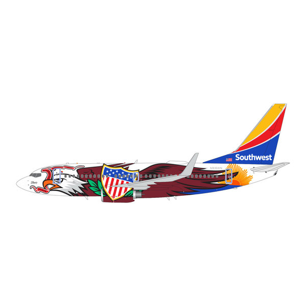 Gemini Jets B737-700W Southwest Illinois One N918WN 1:200 +Preorder+