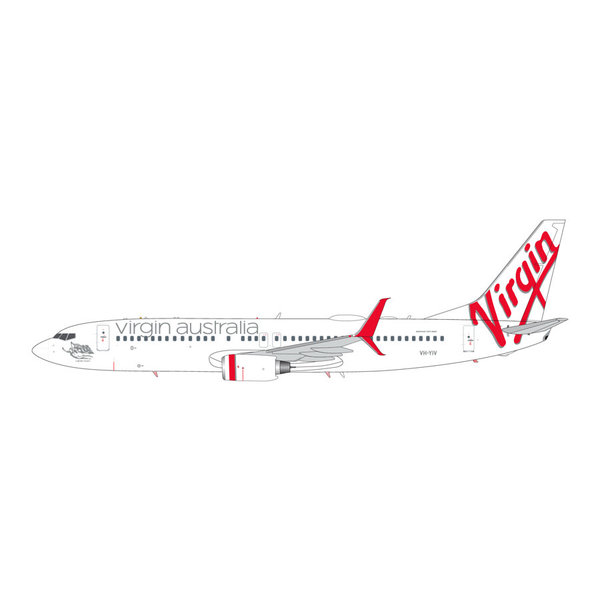 Gemini Jets B737-800S Virgin Australia VH-YIV 1:200 +Preorder+