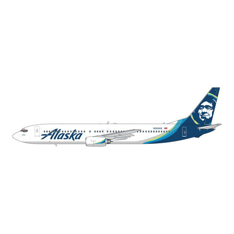 B737-900 Alaska 2015 livery N303AS 1:400