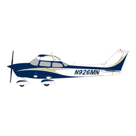 Gemini Jets Cessna 172L Skyhawk N926MN gold/navy 1:72
