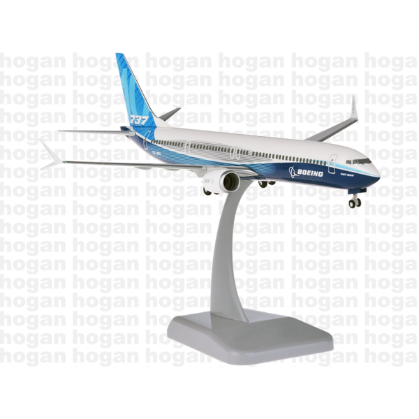 Hogan B737 MAX10 Boeing House livery 1;200 with gear