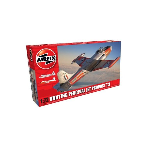 Airfix HUNTING PERCIVAL JET PROVOST T3/T3A 1:72*Discontinued*