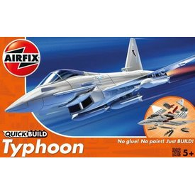 Airfix Eurofighter EF-2000A Typhoon QUICK BUILD Snap Together model
