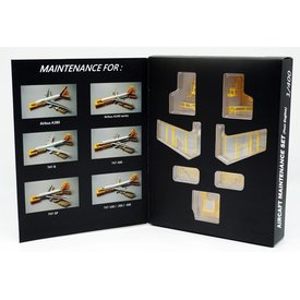 JC Wings Maintenance Docking System for 4 engine A/C 1:400