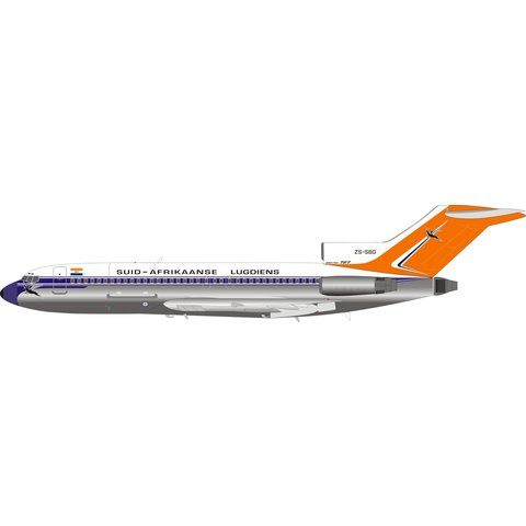 B727-100 South African old livery ZS-SBG 1:200