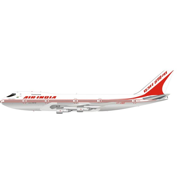 InFlight B747-200 Air India VT-EBO 1:200 Polished