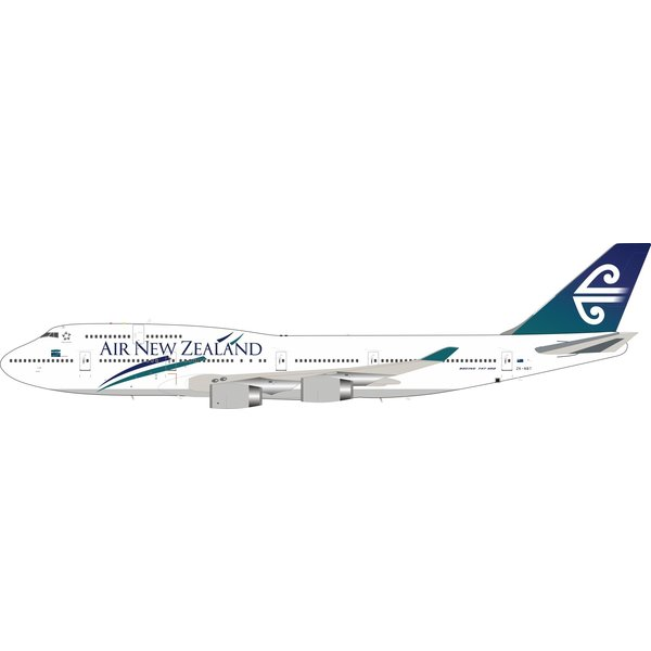 InFlight B747-400 Air New Zealand old c/s ZK-NBT 1:200