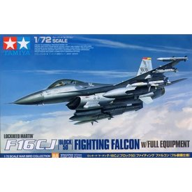 Tamiya F16CJ Fighting Falcon Block 50 with Full Weapons Load 1:72