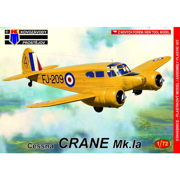 KP Models Cessna Crane Mk.IA RCAF 1:72 [New mould-not PAVLA]