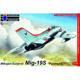 KP Models MiG19S Farmer C Czech Air Force 1:72 New 2019