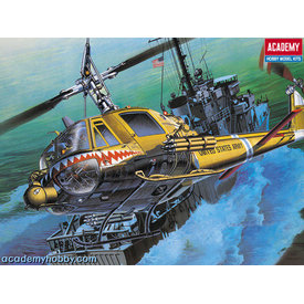 "Academy UH1C HUEY ""FROG"" US ARMY 1:35 2020 re-issue"