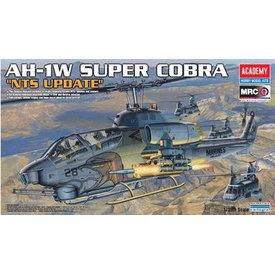 "Academy AH1W Super Cobra ""NTS UPDATE"" 1:35 2020 re-issue"