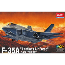 """Academy F35A """"SEVEN NATIONS AIR FORCE"""" 1:72 2020 re-issue"""