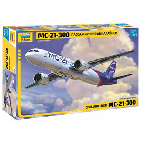 Zvesda Irkut MC-21-300 Civilian Airliner 1:144 New tool 2020 !