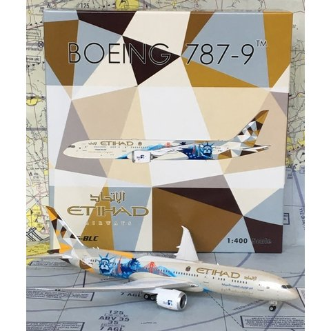 B787-9 Dreamliner Etihad Choose the USA A6-BLC 1:400