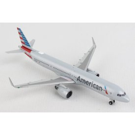 Herpa A321neo American 2013 livery 1:500