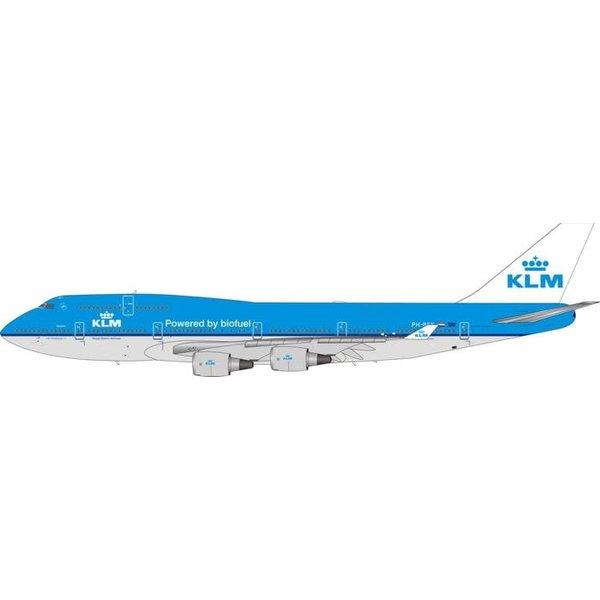 Phoenix B747-400 KLM B747-400 Biofuel PH-BFK 1:400