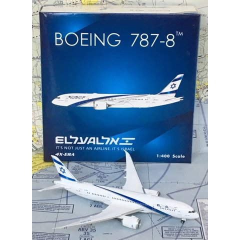 B787-8 Dreamliner ElAl new livery 4X-ERA 1:400