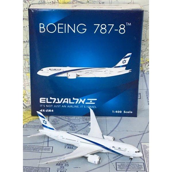 Phoenix B787-8 Dreamliner ElAl new livery 4X-ERA 1:400